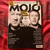MOJO Magazine UK # 147 THE WHO MORRISSEY The Strokes Thin Lizzy The FALL