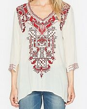 New Johnny Was Casual Blouse Size S