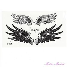 Angel Love Wings Removable Temporary Tattoo Body Art 106x61mm