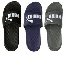 NEW Puma Men's PopCat Logo Fashion Beach Shoes Slip On Slide Sandals Slippers