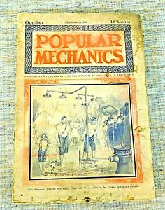 Popular Mechanics Issue October 1909 15 Cents Written So You Can Understand It