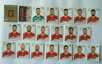Panini WM 2018 Spanien Spain Team Complete Set World Cup WC 18