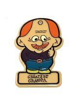 Vtg Greatest Grandpa Christmas Tree Ornament
