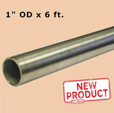 Round Tubing 304 Stainless Steel 1 Inch Od X 6 Feet Welded 0930 Inch Inside Dia