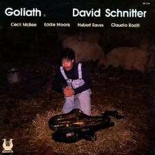 David Schnitter ‎- Goliath / Muse Records Vinyl New and sealed original