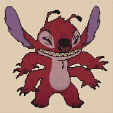 Lilo and Stitch - Leroy Counted Cross Stitch Chart No. 10-78
