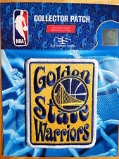 """Licensed NBA Golden State Warriors """"Groovy"""" Fan Iron or Sew On Patch"""