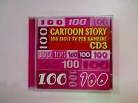CD CARTOON STORY 100 SIGLE TV PER BAMBINI CD 3 RTI I-L