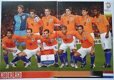 Panini 255 256 257 & 260 Team Niederlande UEFA Euro 2008 Austria - Switzerland