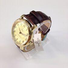 SARTEGO Toledo Men's Genuine Crocodile Leather Japan Quartz Watch SEN555R