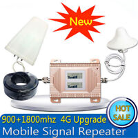 Dual band Cellular Signal Repeater 2G GSM 900 4G LTE DCS 1800MHz Signal Booster