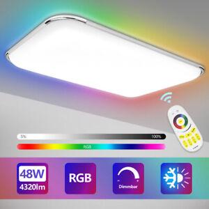 LED Deckenleuchte Wandleuchte Fernbedienung Deckenlampe 24W-96W Lampe RGB Modern