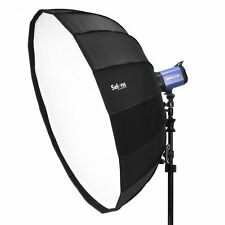 """Selens 65cm 26"""" Sliver Foldable Collapsible Beauty Dish Softbox Off-camera Flash"""