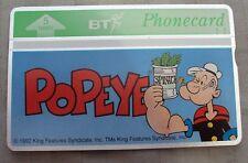 BT Phonecard Popeye MINT RARE