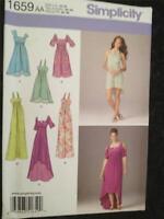 Simplicity Sewing Pattern 1659 Misses Ladies Dresses Dress Size 10-18 Uncut