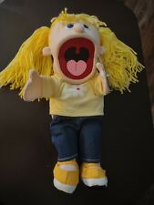 Silly Puppets Katie (Peach) Hand Puppet - 14-inch NWT!