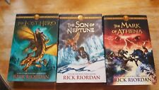 The Heroes Of Olympus Books 1-3 The Lost Hero, Son of Neptune, Mark of Athena