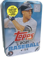 2021 Topps Series 1 MLB Baseball Tin Trading Cards Pre-Sale