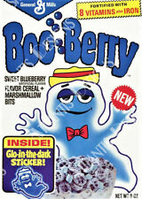 Boo Berry Cereal Box Fridge Magnet 2 x 3