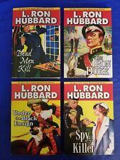 4 L Ron Hubbard Library Galaxy Press 2007-2008 Paperbacks Crime Historical Fine