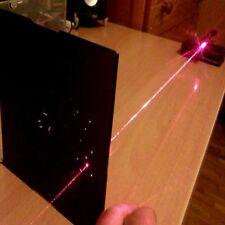 Starker Rot Laserpointer Pen 650nm Fokussierbar Strahl + Akku,Ladegerät,Gift box