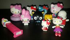 Sanrio Hello Kitty Figurines Characters Lot Chococat Pochacco Dog Bear Pez