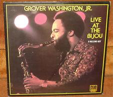 GROVER WASHINGTON, JR - LIVE AT THE BIJOU - JAZZ SOUL R&B FUNK SMOOTH - 2 LP SET