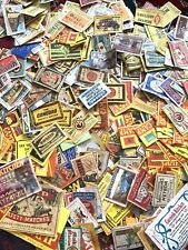 MIX VINTAGE MATCHBOX LABELS JOB LOT!!!!