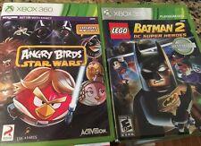 Angry Birds & Batsman 2 Xbox 360 Games