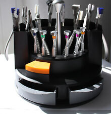Hochwertiges Zangen Schraubendreher-Set im praktischen Ständer für Optiker NEU