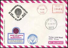 Austria 1983 bolla POST volo Coperchio #C 16194