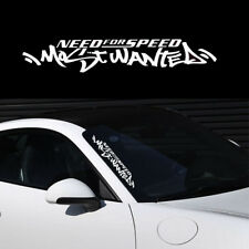 1pc Fun White Need For Speed Scratch Car Auto Windshield Decal Vinyl Sticker