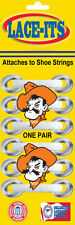 Oklahoma State Mascot Shoe Lace Accessory (Logo attaches to shoe strings)