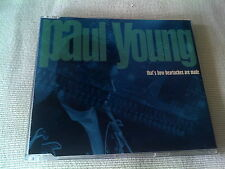 PAUL YOUNG - THAT'S HOW HEARTACHES ARE MADE - 1994 UK CD SINGLE