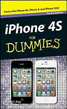 iPhone 4s for Dummies (Pocket Edition) (For Dummies), , Used; Good Book