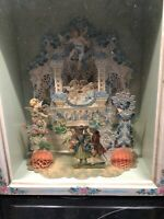 Vintage Shadow Box 3-D Scene