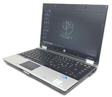 "*2032 PC Portatile Notebook 14"" HP 8440p 8Gb Ram 240Gb SSD Core i7 1Gen Win 10"
