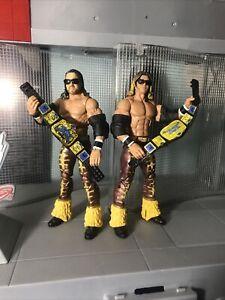 WWE Elite Collection MNM Custom Figures Lot NITRO & MERCURY Mattel WWF ECW NXT