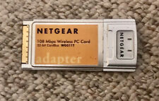 Netgear 108 Mbps Wireless Pc Card Wg511T - 32-bit CardBus - Used