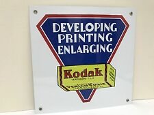 Kodak film vintage style metal advertising sign baked