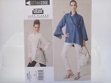 Vogue 1246 V1246, Lynn Mizono, Misses' Loose Fit Shirt Pattern, Sizes 8-14