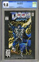Doom 2099 #1 - CGC 9.8 WP - Silver Foil Cover- Awesome!