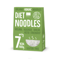 DIET-FOOD Organic Konjac Noodles (BIO Shirataki Nudeln) 900g VERSAND WELTWEIT