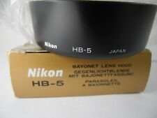 Nikon HB-5 Lens Hood - AF Zoom-NIKKOR 35-105mm f/3.5-4.5D IF - NEW OLD STOCK