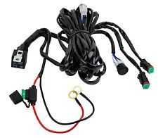 Totron DT Plug Dual Light Wiring Harness w/ Relay and Switch for 2 Light Bars