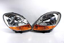 Front Headlights Lamps PAIR Amber Fits RENAULT Kangoo Facelift 2003-2008
