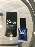 AVON GEL FINISH 7-1 Nail enamel, gel finish,SAPPHIRED UP Gorgeous Stunning Color