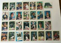 1989 ATLANTA BRAVES Topps COMPLETE Baseball Team SET 29 Cards MURPHY SMOLTZ GANT