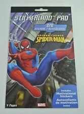 276 Stickers Stickerland Pad Reward Fun- Marvel Spider Sense Spiderman