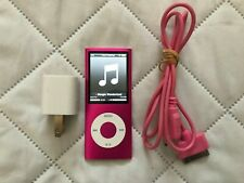 Apple iPod Nano / 4th Gen / 8GB / Pink Model A1285 Tested And Working B1
